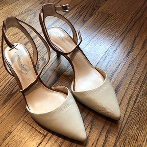 Banana Republic Heels (Brown/Cream)